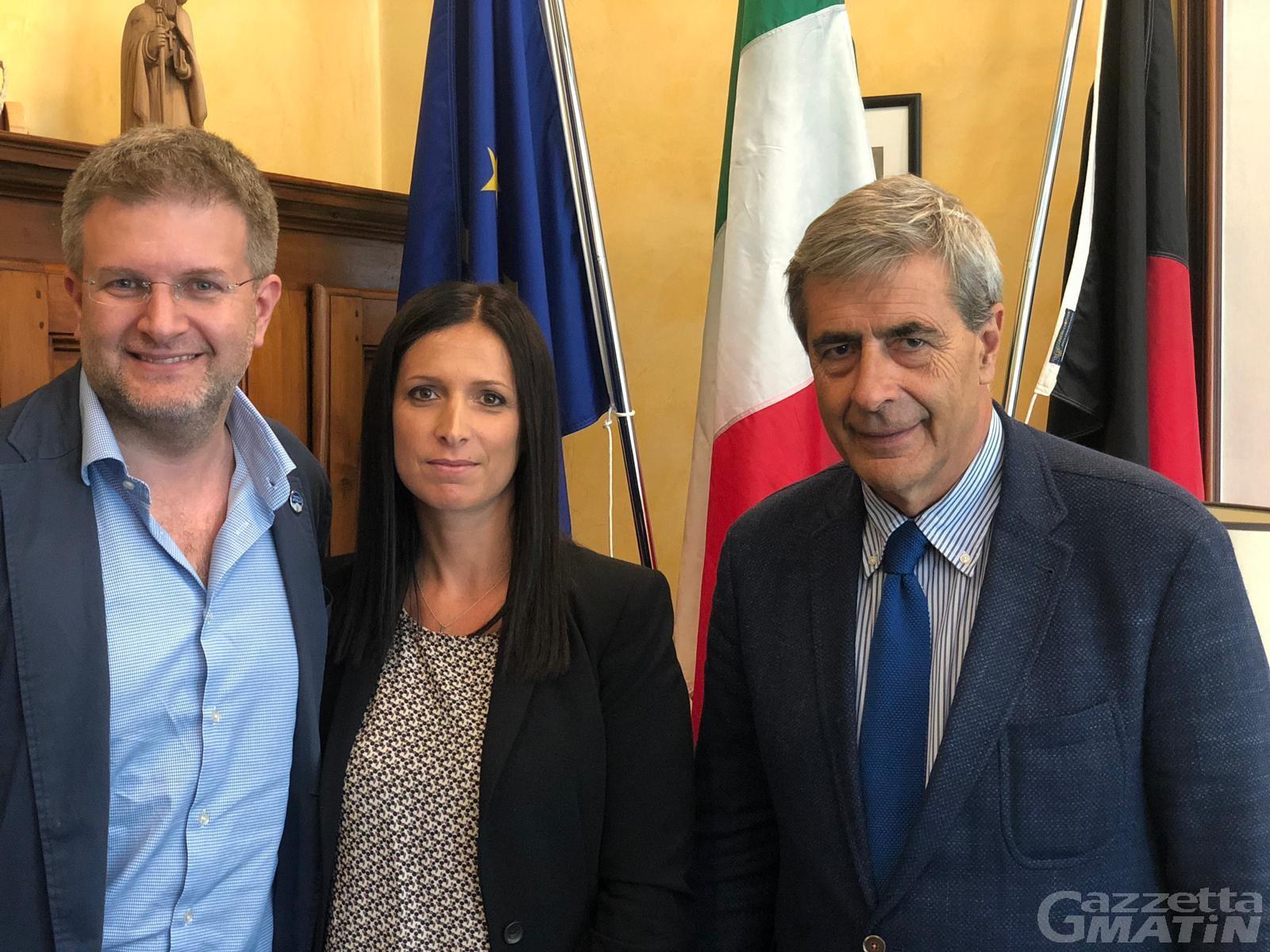 Front Valdôtain e FdI, continua l'intesa: l'europarlamentare Fidanza in visita ad Aosta