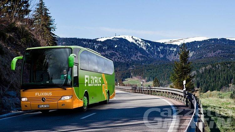 FlixBus fa il botto in Valle e porta nuovi collegamenti