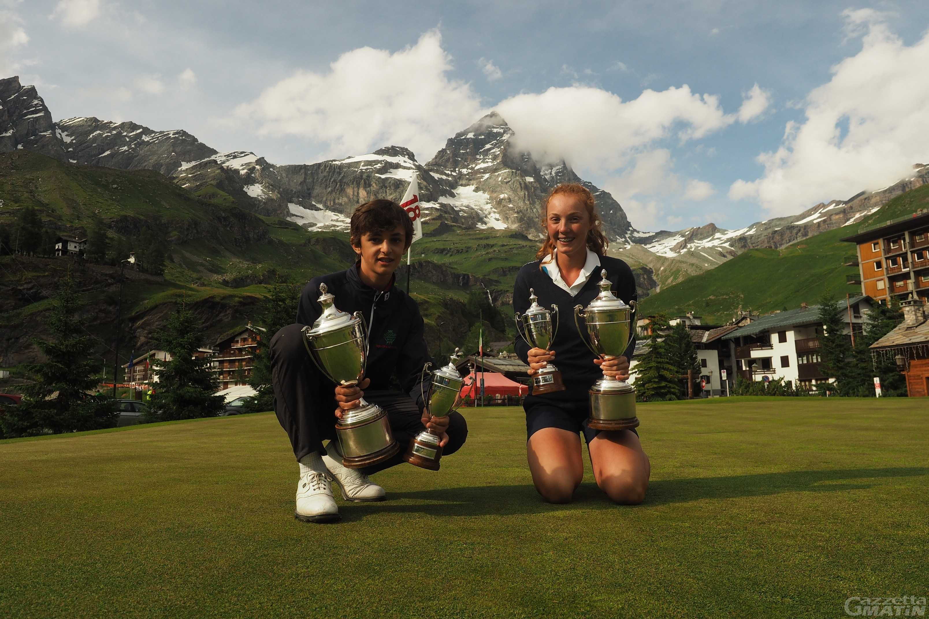 Golf: i campionati italiani Under 14 tornano a Cervinia