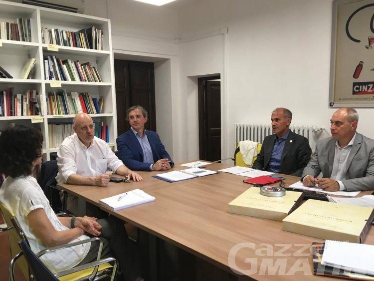 Monte Bianco: candidatura all'Unesco, l'assessore Chatrian a Roma