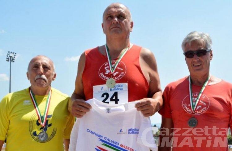 Atletica: pioggia di medaglie per i Master valdostani impegnati in Toscana