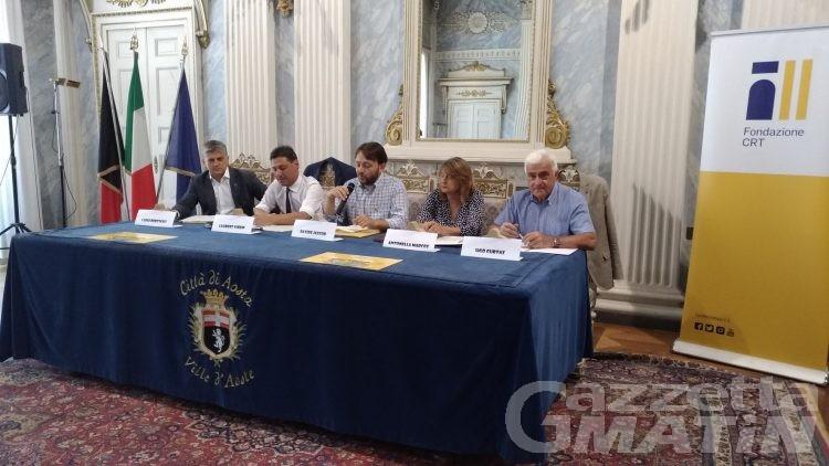 GiocAosta conquista piazza Narbonne e i siti culturali