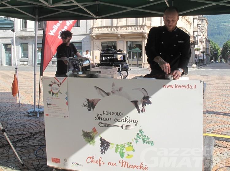 Show cooking: sei appuntamenti e anteprima al castello di Aymavilles