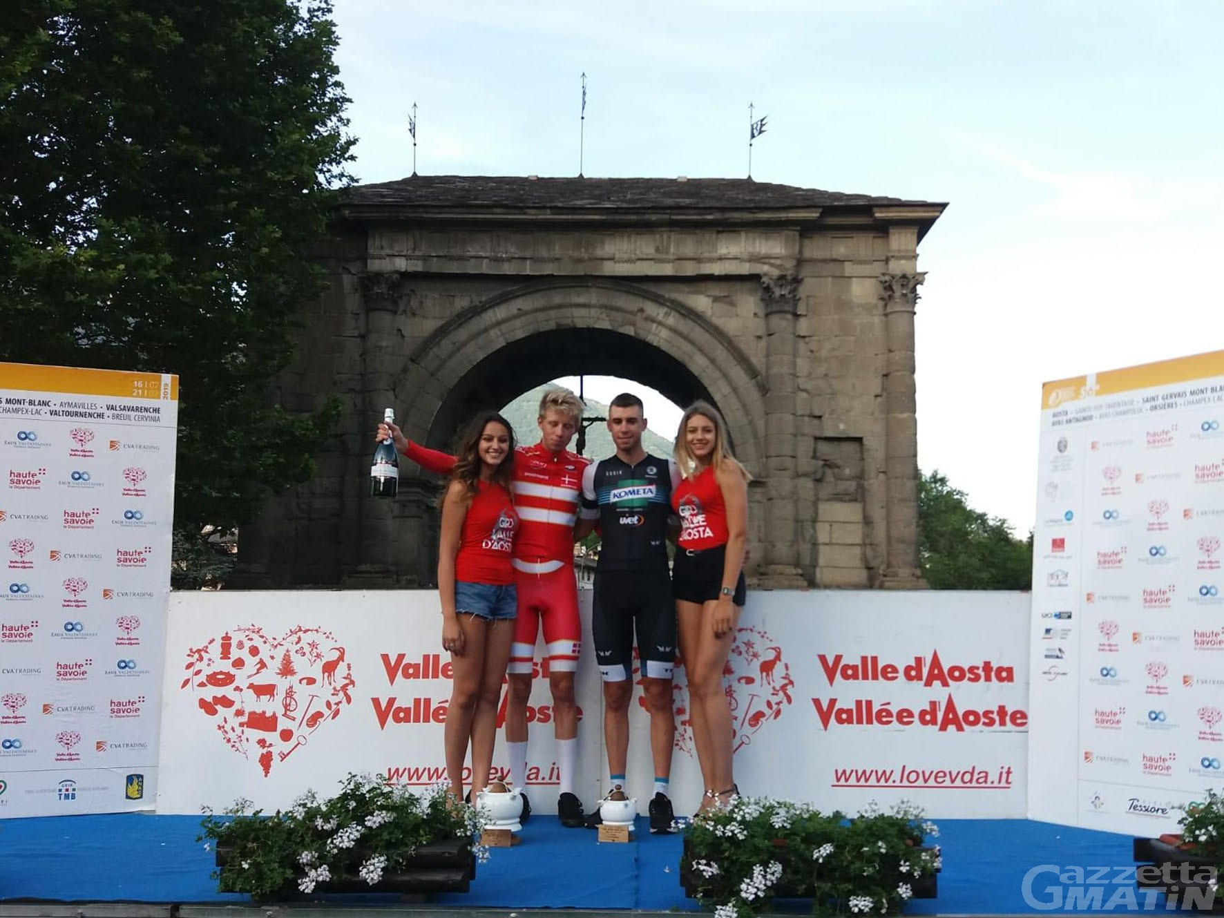 Giro della Valle: la cronoprologo va all'olandese Jacob Hindsgaul Madsen