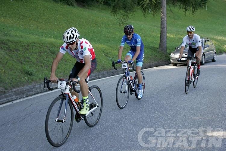 Ciclismo: Cuaz vince a Pila, ma Roveyaz trionfa nel Circuit du Grimpeur