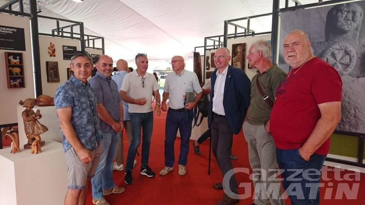 Artigianato: ha aperto l'Atelier in piazza Chanoux ad Aosta