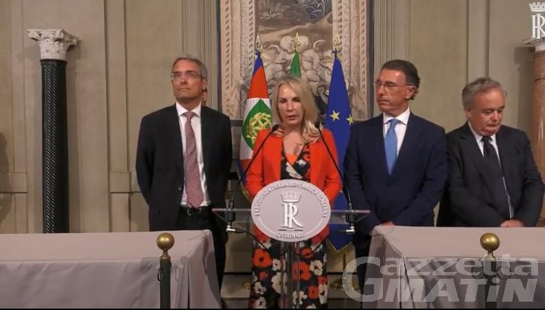 Crisi di governo: il gruppo Autonomie di Albert Lanièce aperto a un Conte bis