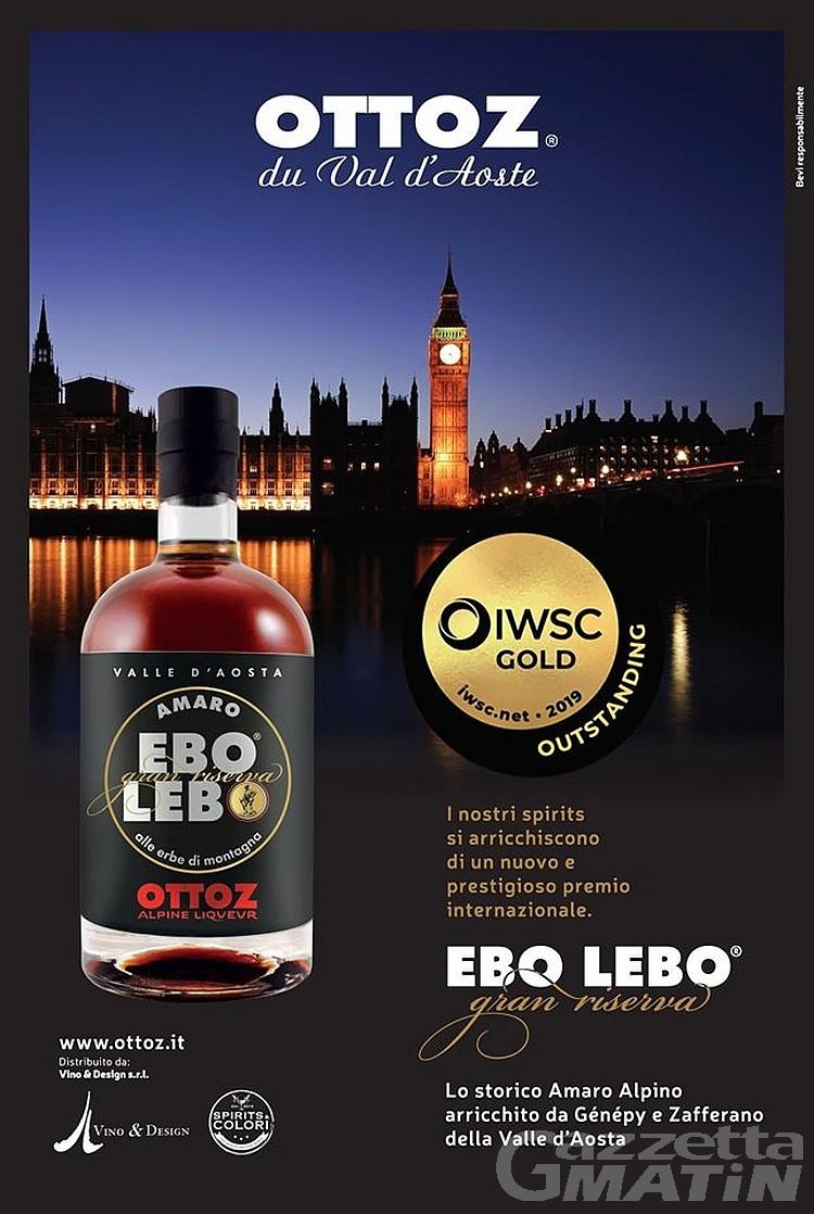 International Wine and Spirits Competition: Ebo Lebo si tinge d'oro