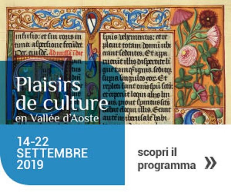 Cultura, un ricco programma di eventi per Plaisirs de Culture 2019