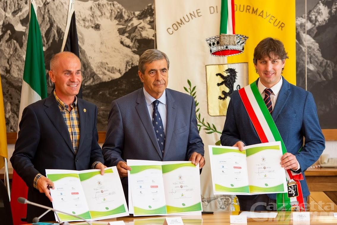 Ambiente: firmata Carta di Courmayeur per gli Eventi Sportivi Sostenibili