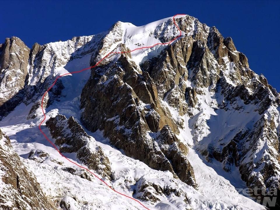 Courmayeur, rischio crolli: chiuso il sentiero per il rifugio Boccalatte-Piolti