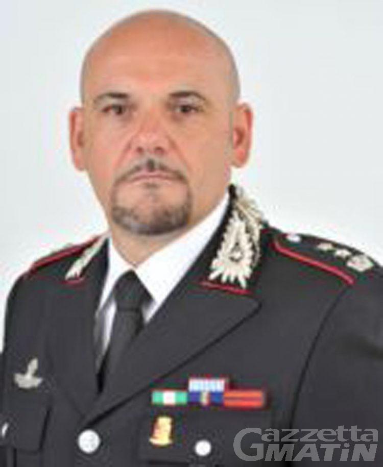 Carabinieri: Carlo Lecca nuovo comandante Gruppo Aosta