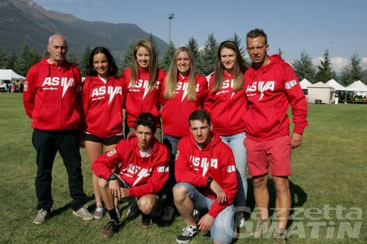 Biathlon: raduno atletico per la squadra Asiva