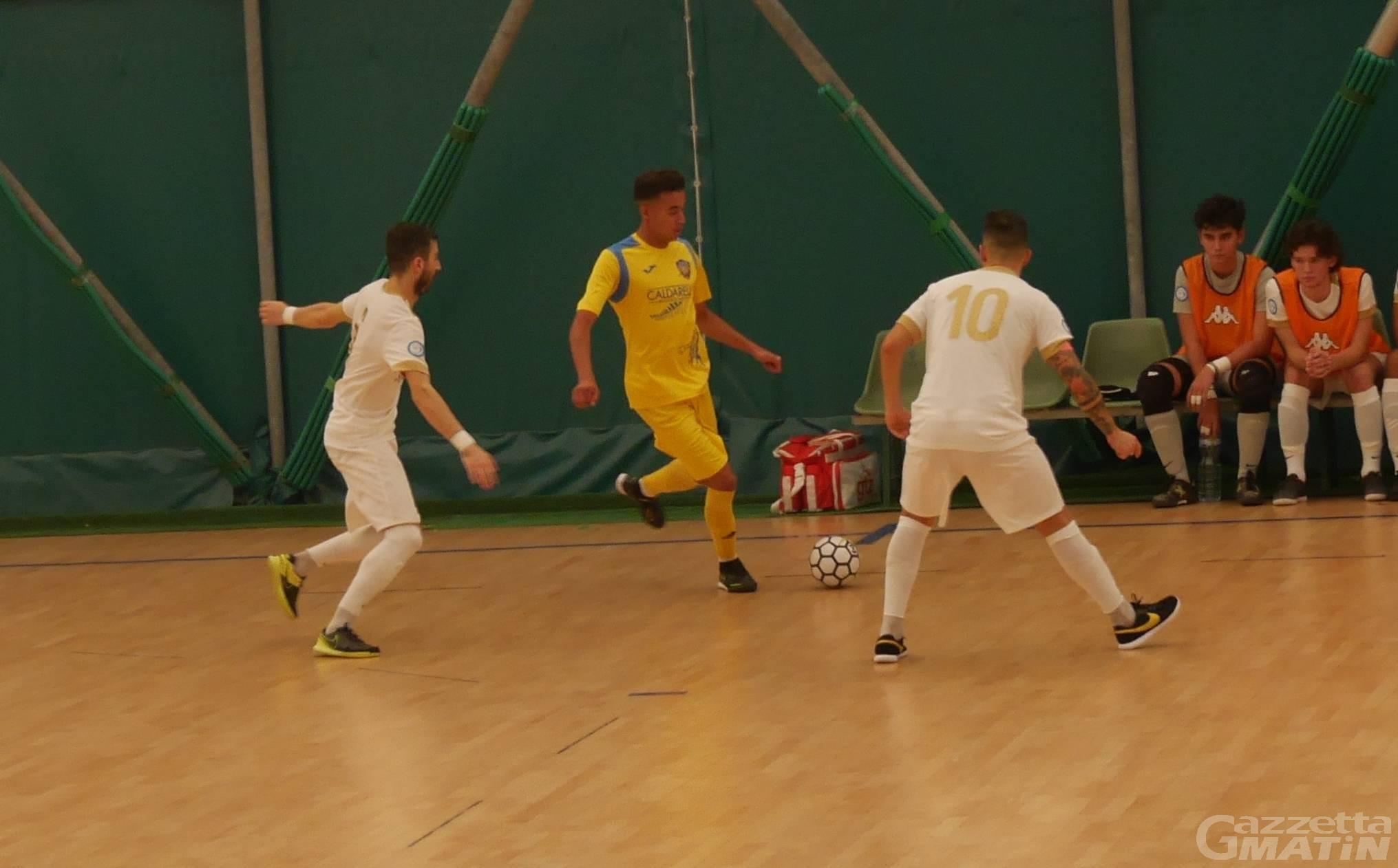 Futsal: l'Aosta Calcio 511 cade di misura a Montecatini