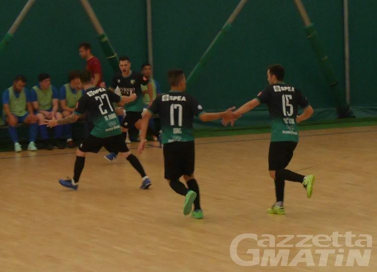 Futsal: i grandi ex puniscono l'Aosta Calcio 511