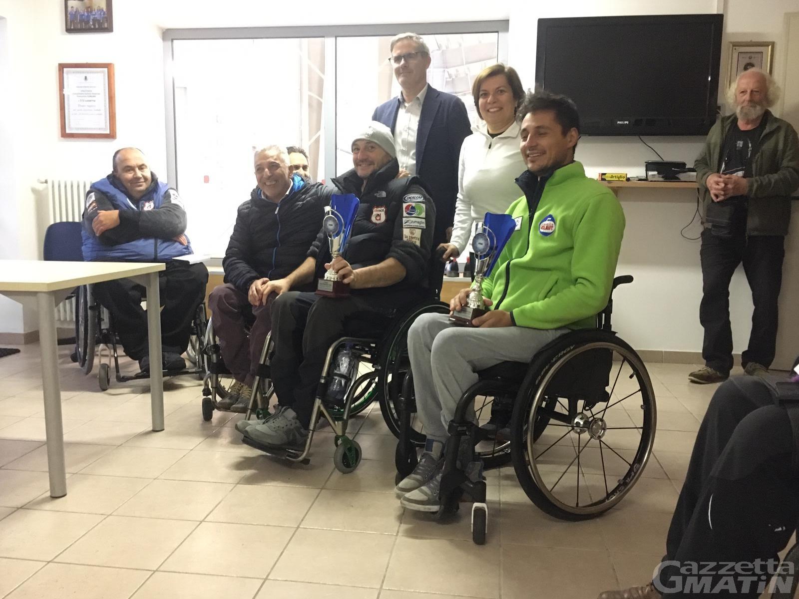 Wheelchair curling: Fabrizio Bich vince a Pinerolo
