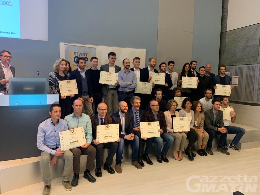 Start Cup 2019: Nova Stark vince il Premio Valle d'Aosta