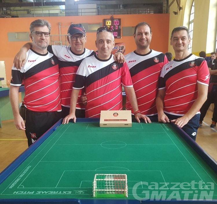 Subbuteo: l'Aosta Calcio Tavolo sconfitta in finale