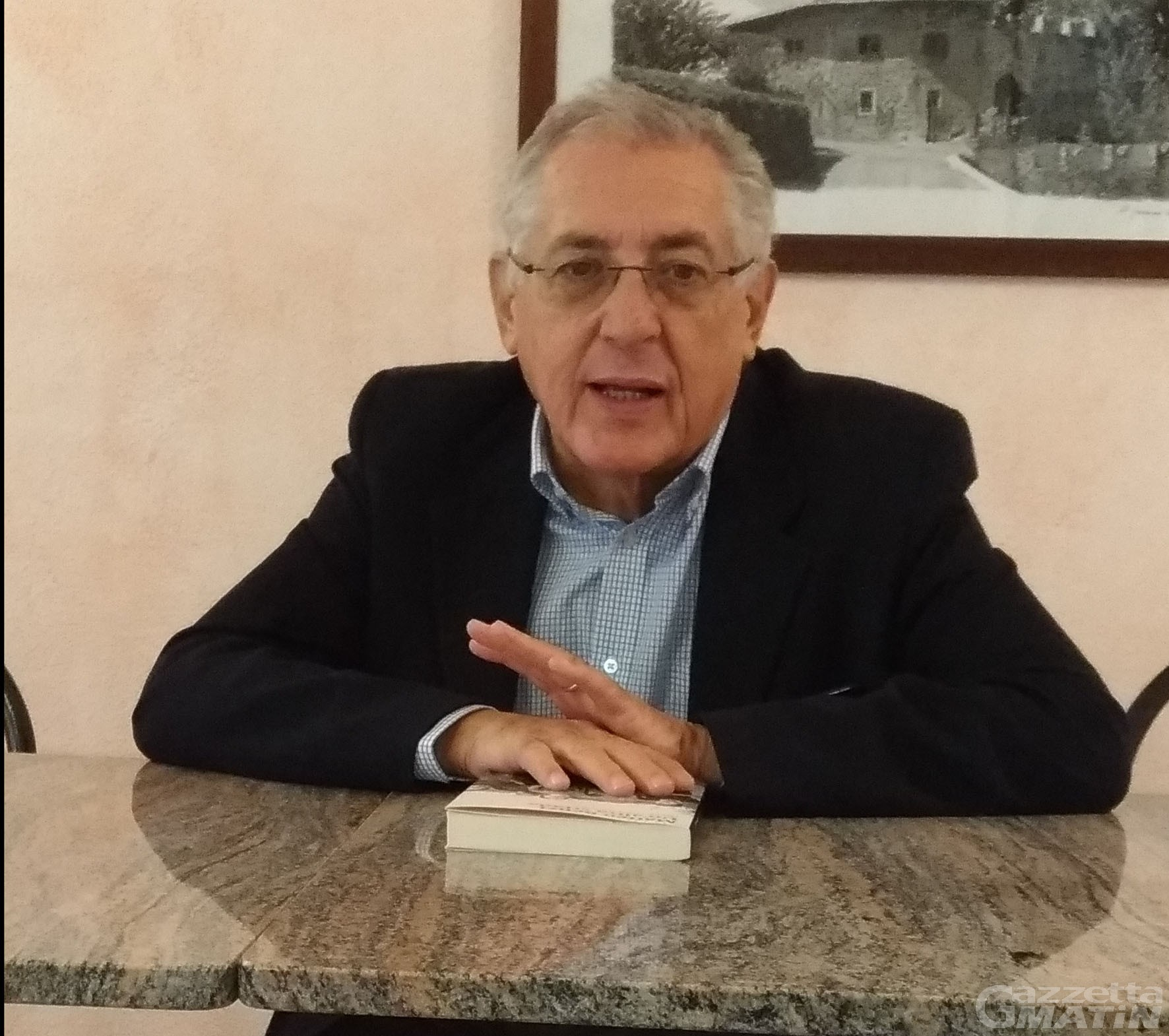 Pd VdA: il presidente Giovanni Sandri lascia e aderisce a Italia Viva