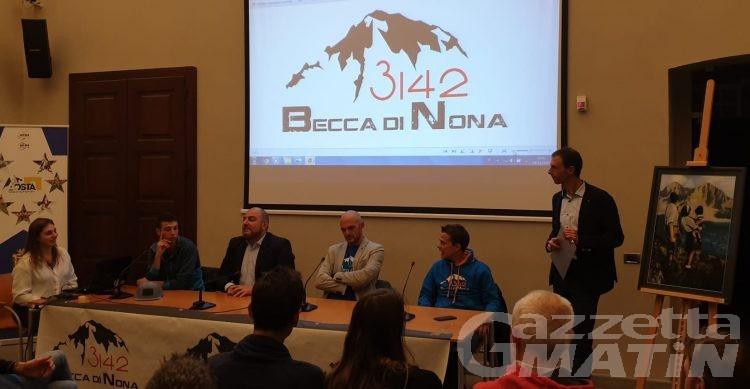 Vertical running: l'Aosta-Becca di Nona si fa in cinque