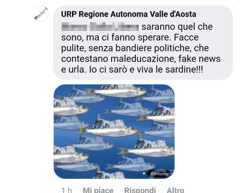 """Caso """"sardine"""": la Lega VdA deposita un'interrogazione a risposta immediata"""