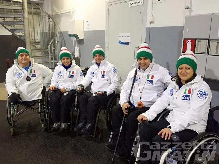 Wheelchair curling: la Disval Asd vince il derby