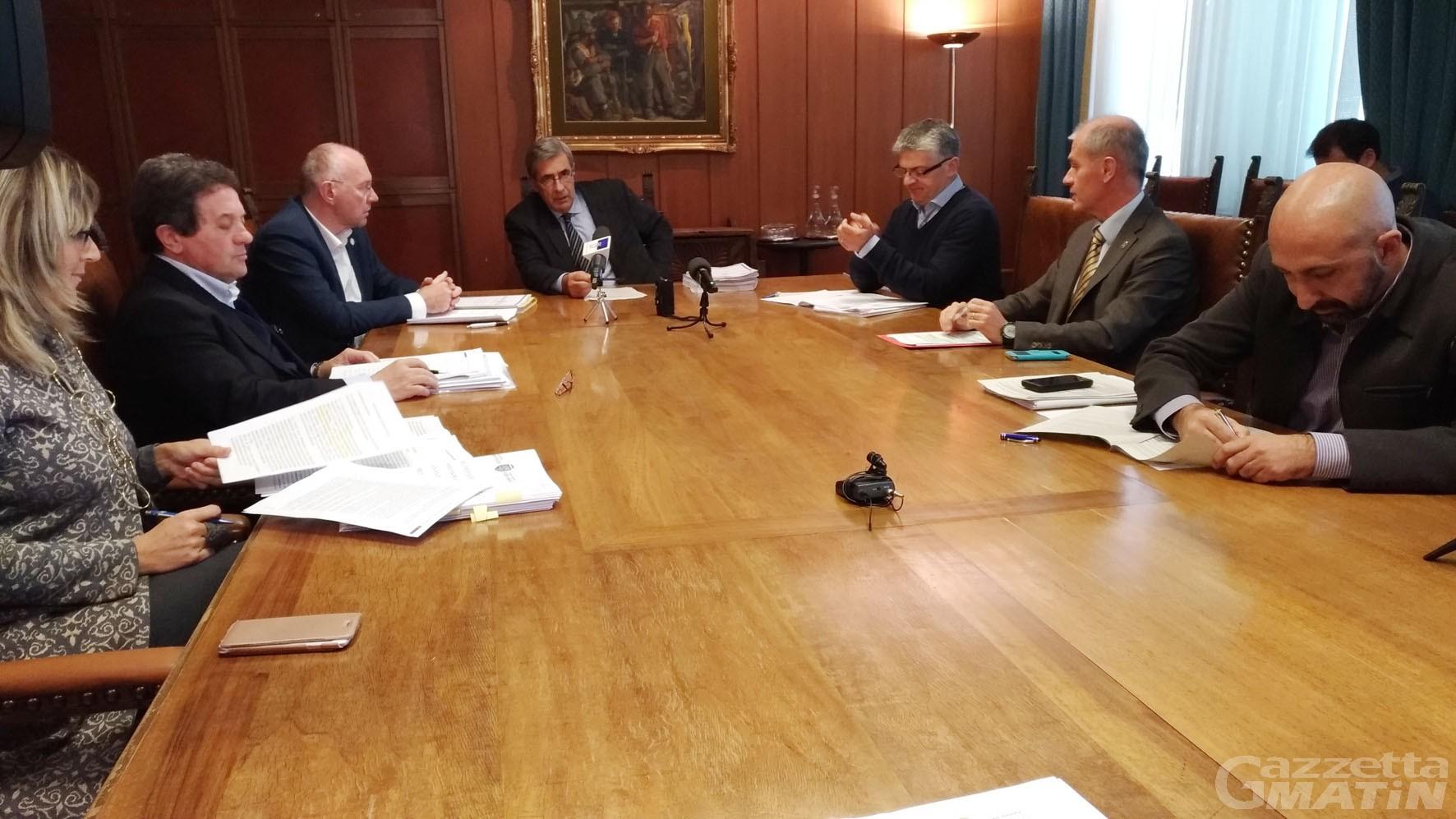 Regione Valle d'Aosta: nel bilancio 255 milioni per gli investimenti