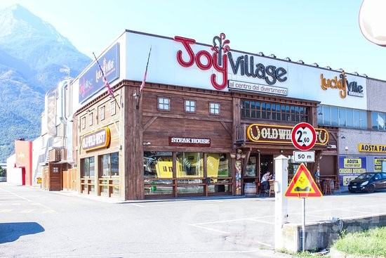Può riaprire la sala giochi del Joy Village di Quart