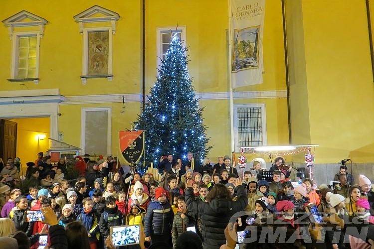 Natale ad Aosta: inaugurato Noël pour les Enfants