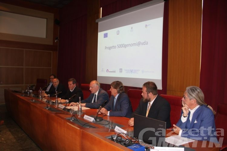 Sanità: studio del genoma per 5000 valdostani e 21 milioni e mezzo di euro di investimento