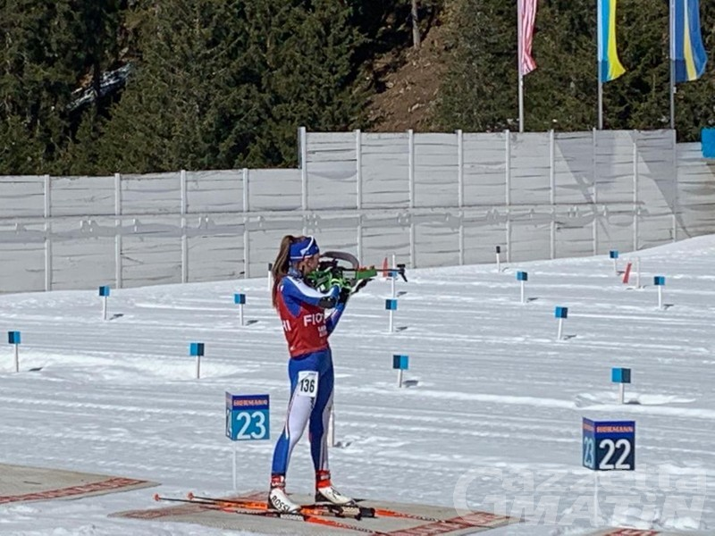 Biathlon: Beatrice Trabucchi splendida terza nell'IBU Cup Juniores