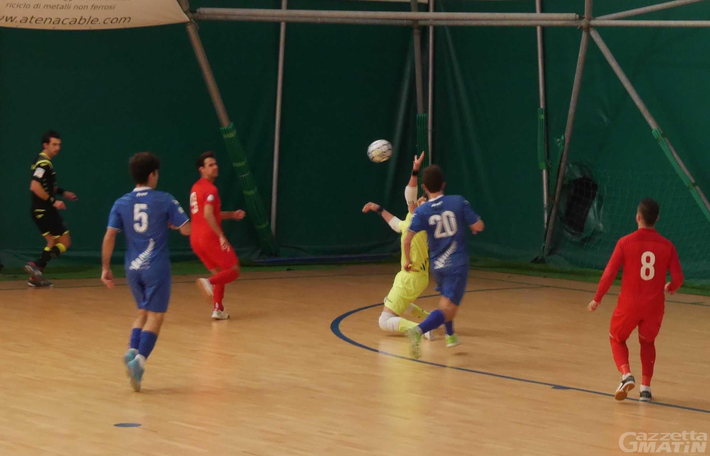 Futsal: harakiri interno dell'Aosta Calcio 511