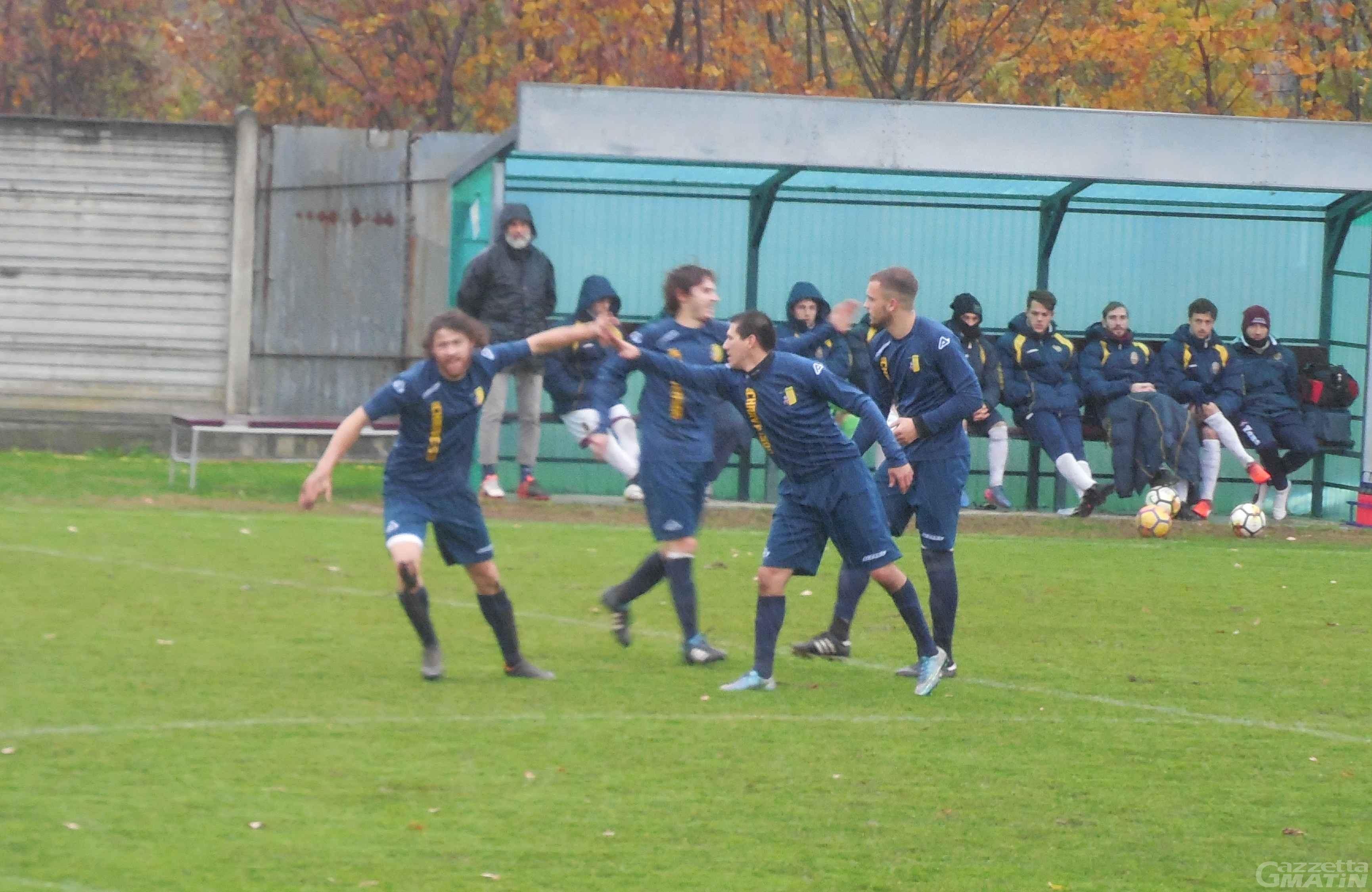 Calcio: vince l'Aygreville, pareggia il P.D.H.A.E.
