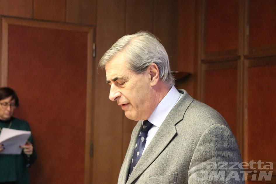 'Ndrangheta: il presidente Fosson si è dimesso, si apre la crisi di governo