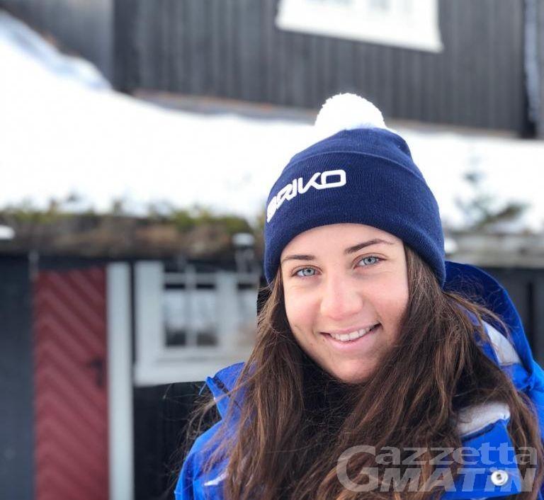Sci alpino: Giulia Albano a punti nella combinata di Kvitfjell