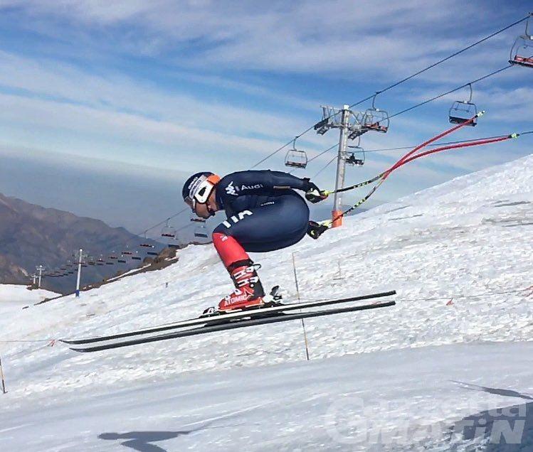 Sci alpino: Héloïse Edifizi e Henri Battilani sesti in Val Gardena