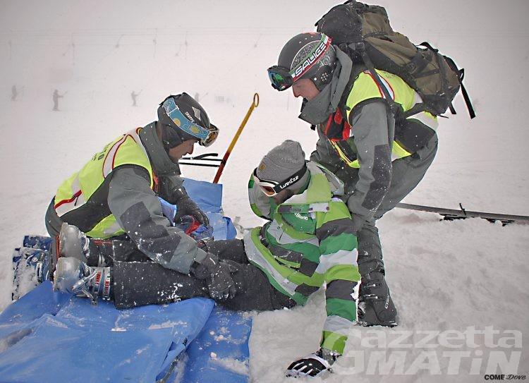 Infortuni sugli sci: riaprono i centri traumatologici