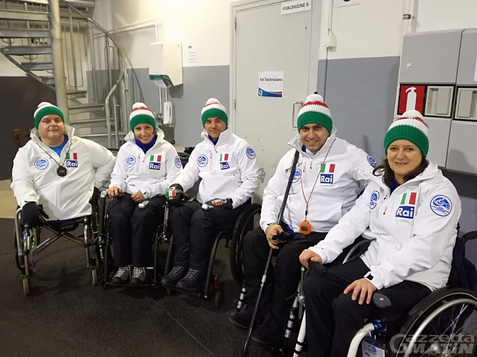 Wheelchair curling: Italia quinta ai Mondiali B di Lohja