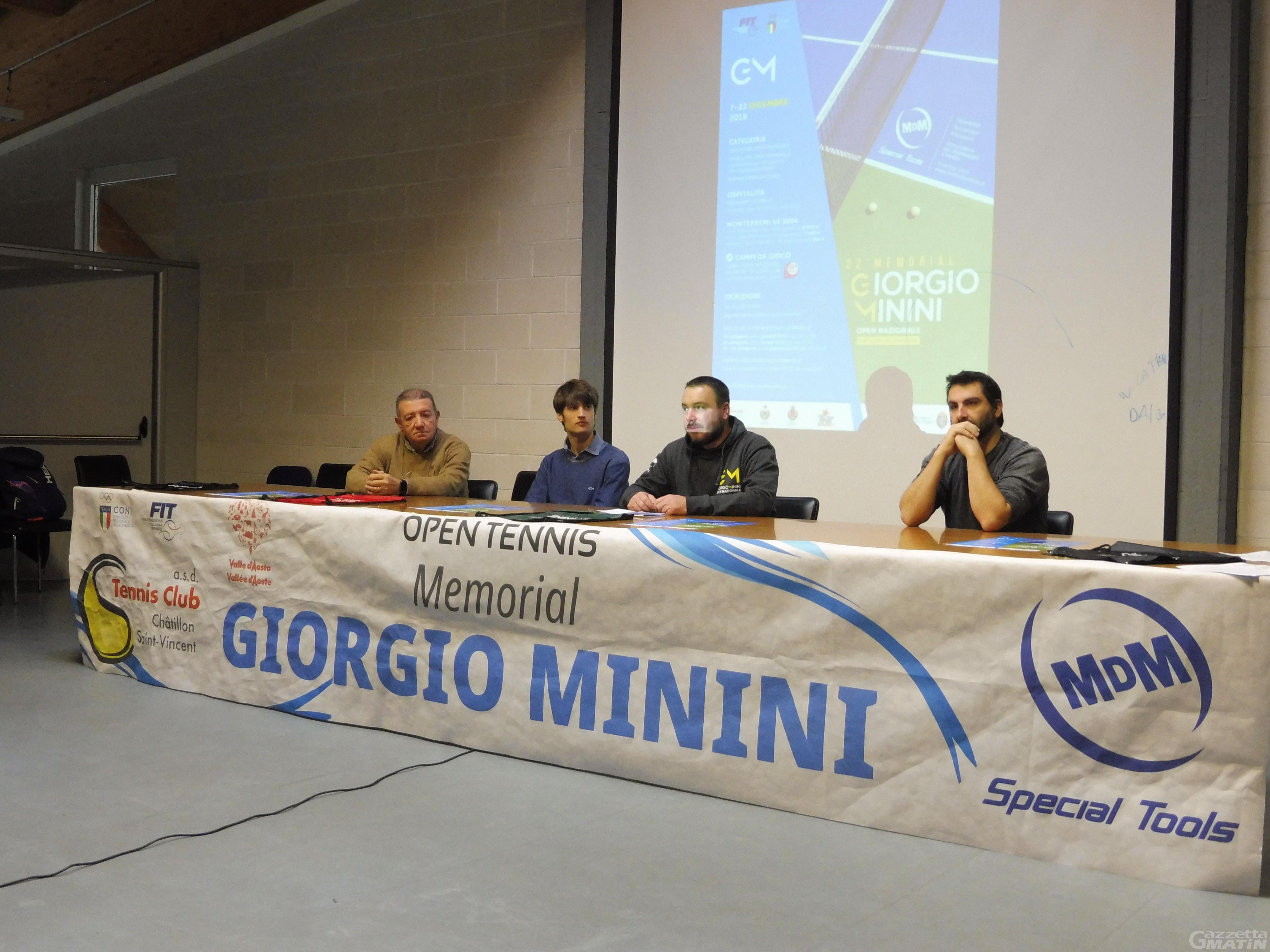 Tennis: tanti big per il 22° Memorial Giorgio Minini