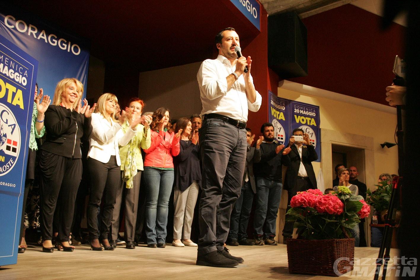'Ndrangheta: Matteo Salvini venerdì 20 ad Aosta, Lega sconcertata dagli eventi