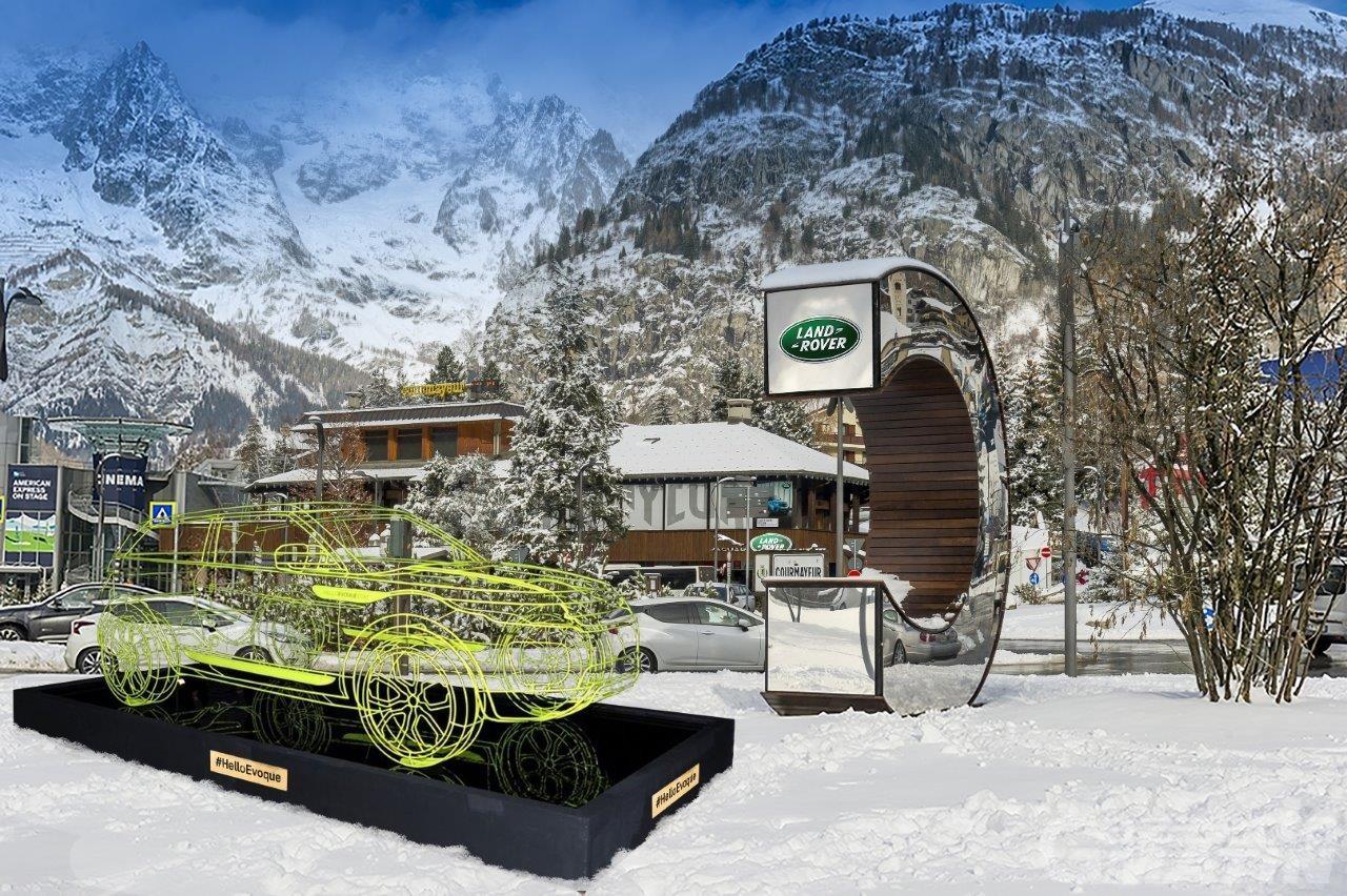 Courmayeur: Jaguar Land Rover sponsor unico di località