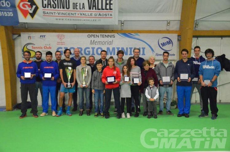 Tennis: torna il Memorial Giorgio Minini a Châtillon