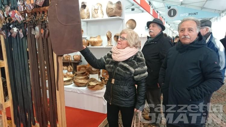 Fiera di Sant'Orso 2020: inaugurati l'Atelier dei professionisti e il padiglione enogastronomico