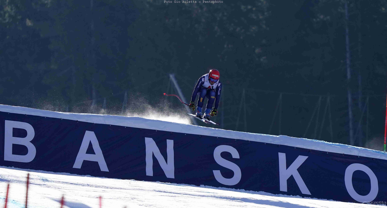 Sci alpino: podio tutto azzurro a Bansko