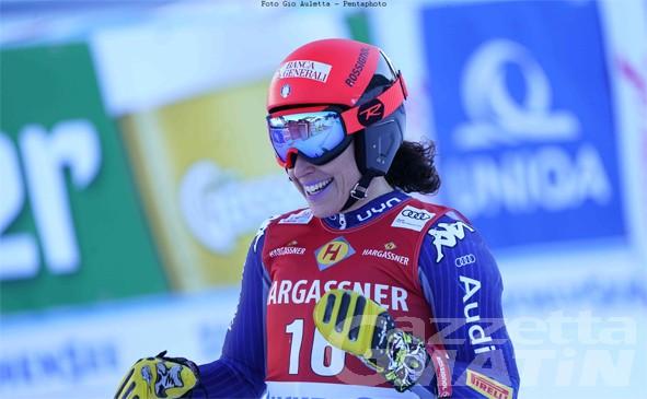 Sci alpino: Federica Brignone in vetta alla combinata
