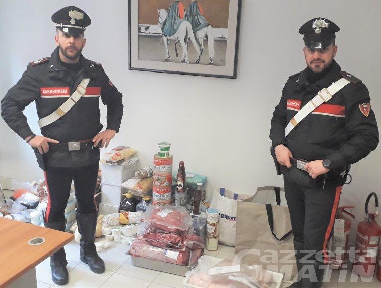 Furti nei ristoranti di Aosta: denunciato aostano di 31 anni trovato dai carabinieri con la refurtiva