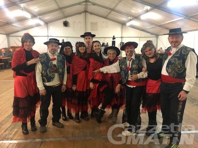Aosta: oggi pomeriggio la sfilata dei Carnavals de montagne