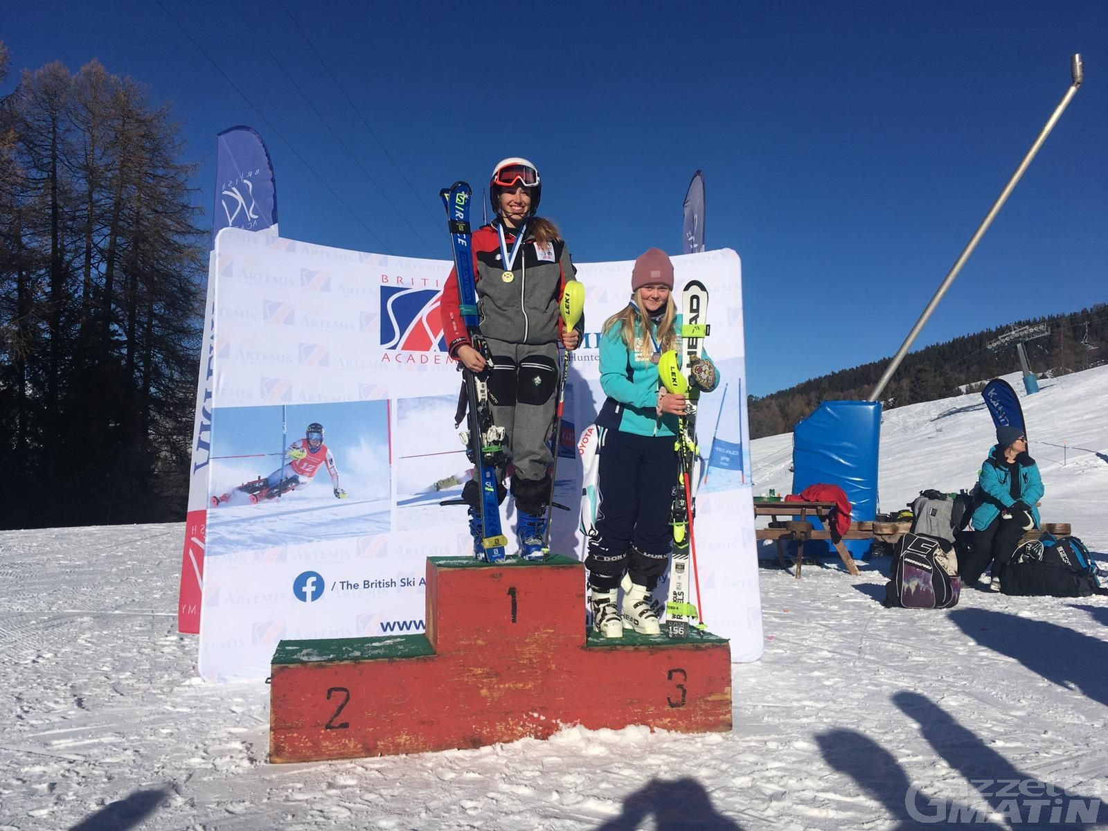 Sci alpino: Carole Agnelli e Benjamin Alliod vincono a Pila