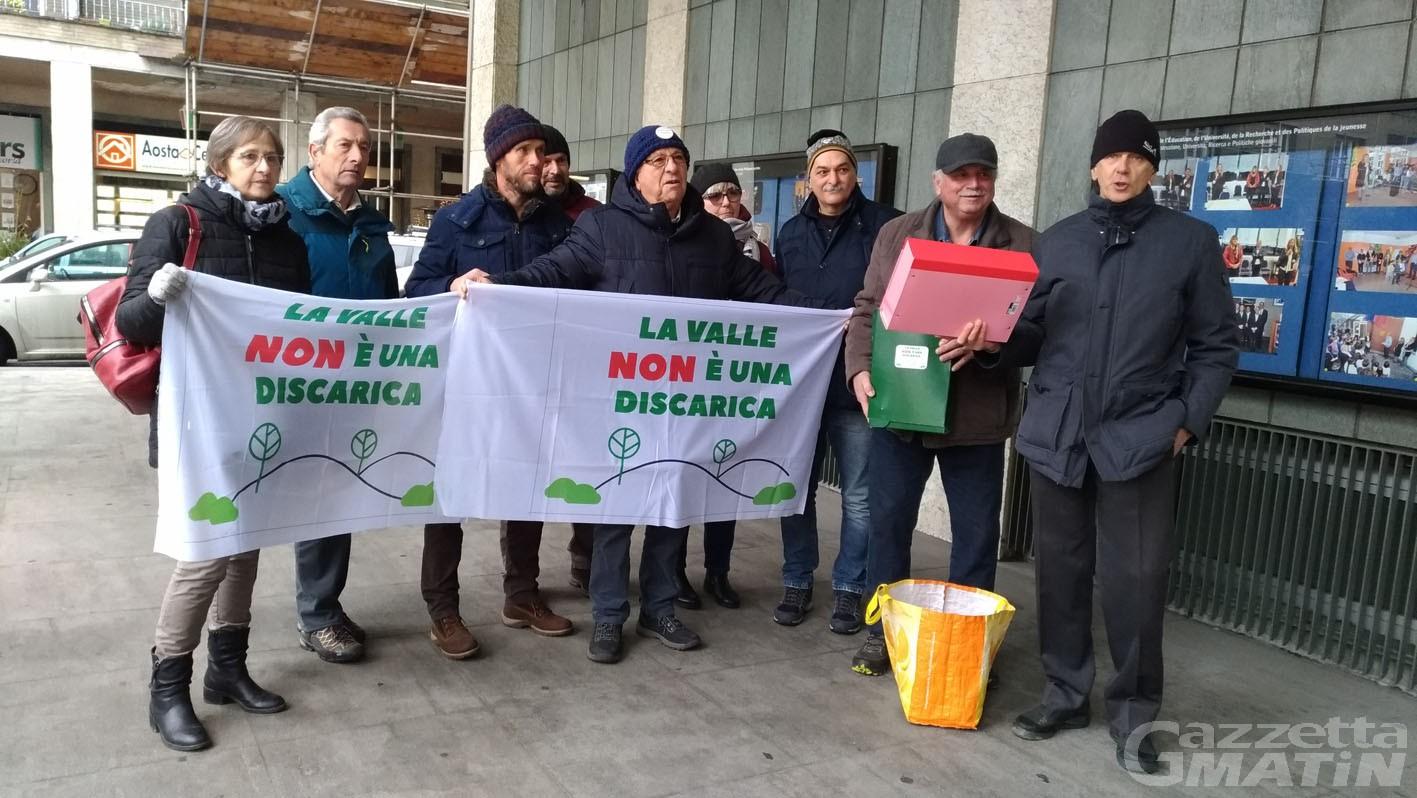 Discarica Chalamy: raccolte 13 mila firme per dire no alla realizzazione