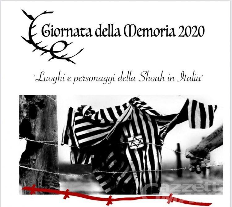 """Giornata della Memoria: """"Luoghi e personaggi della Shoah in Italia"""""""